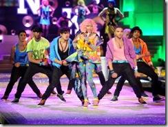 Nicki Minaj performs during the 2011 Victoria's Secret Fashion-Show